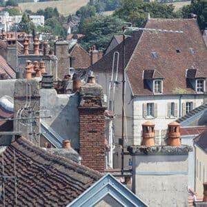 Quartier du vieux Lons le Saunier