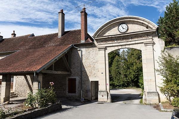 Porte des anciennes Salines à Montmorot
