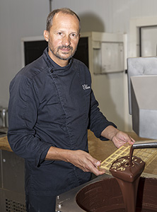 Production de chocolats Pelen