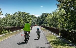 Randonnées en vélo sur la voie verte