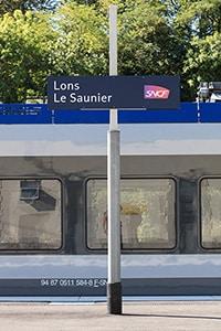 Quai de la Gare de Lons le Saunier