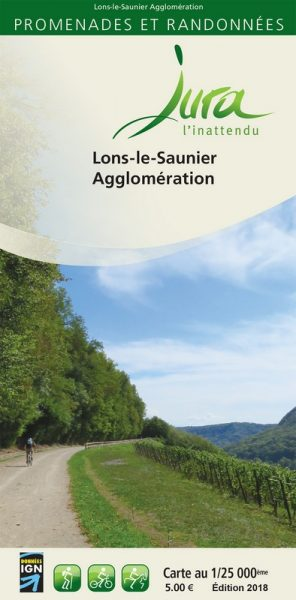 Couverture cartoguide Ecla - Office de Tourisme Lons-le-Saunier