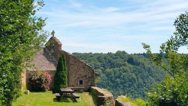 Ermitage à Conliège (aire de pique-nique)