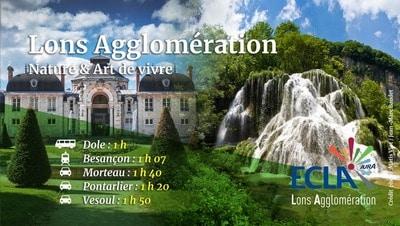Visuel promotionnel Lons Agglomération