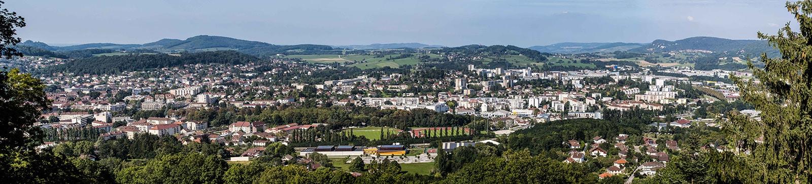Lons-le-Saunier-Jura-Panoramique