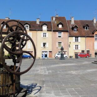 Photo n°3 : Place de la Comédie à Lons-le-Saunier